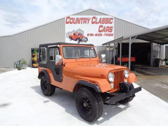 1977 Jeep CJ5 (CC-1082788) for sale in Staunton, Illinois