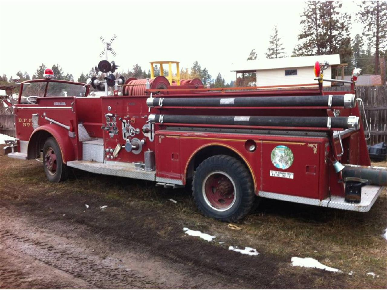 1954 American LaFrance Fire Engine (CC-1085353) for sale in West Pittston, Pennsylvania