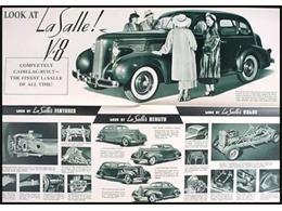 1937 LaSalle 50 (CC-1087583) for sale in Milford, Ohio