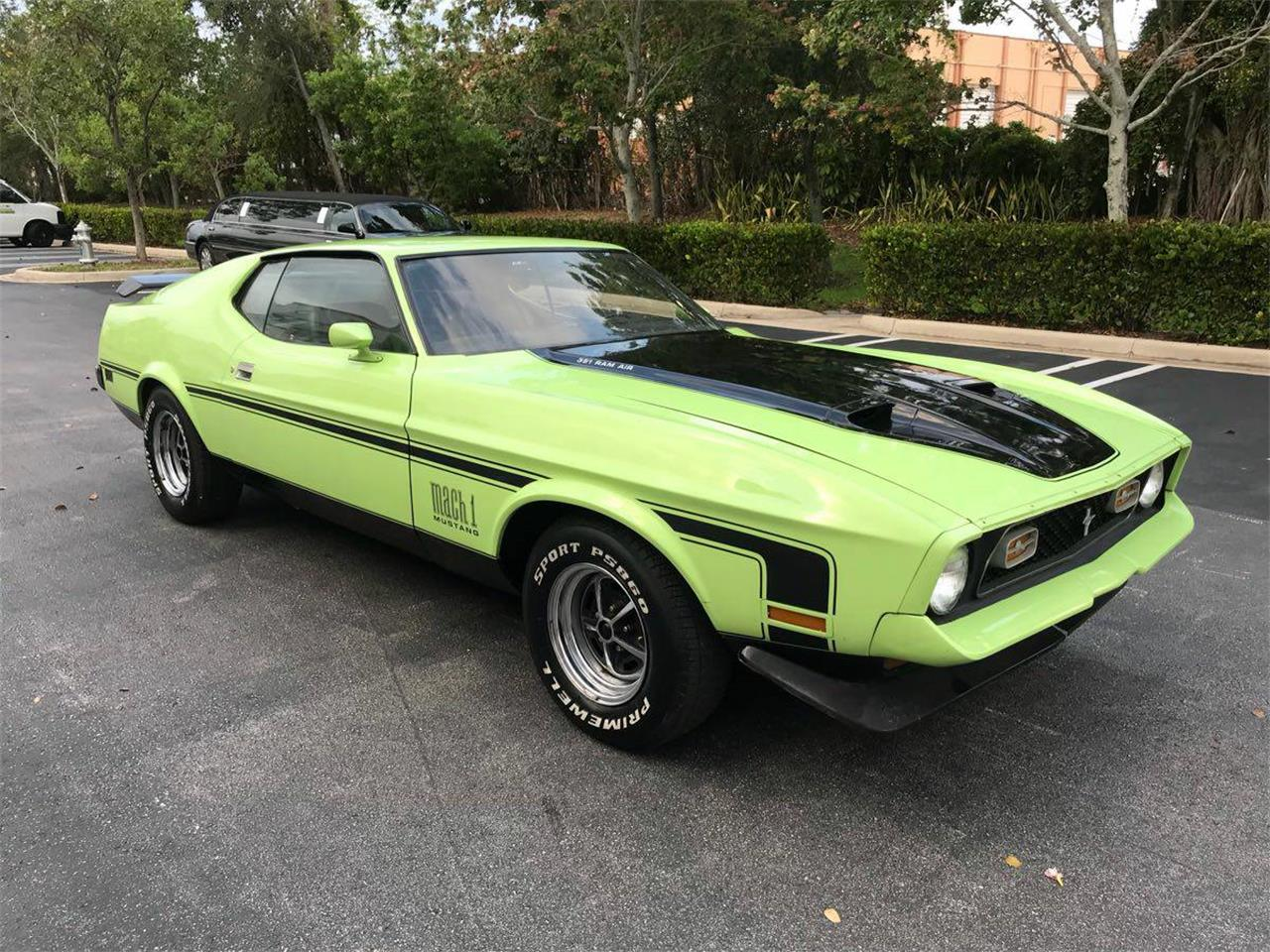 1971 Ford Mustang Mach 1 for Sale | ClassicCars.com | CC-1089643
