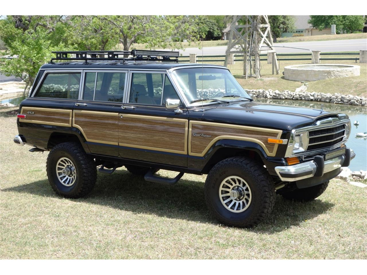 1988 jeep grand wagoneer for sale classiccars com cc 1091907 1988 jeep grand wagoneer for sale