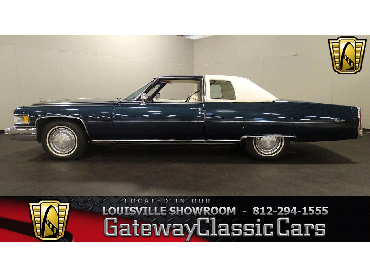 Cadillac Of Memphis >> 1975 Cadillac Deville For Sale Classiccars Com Cc 1092131