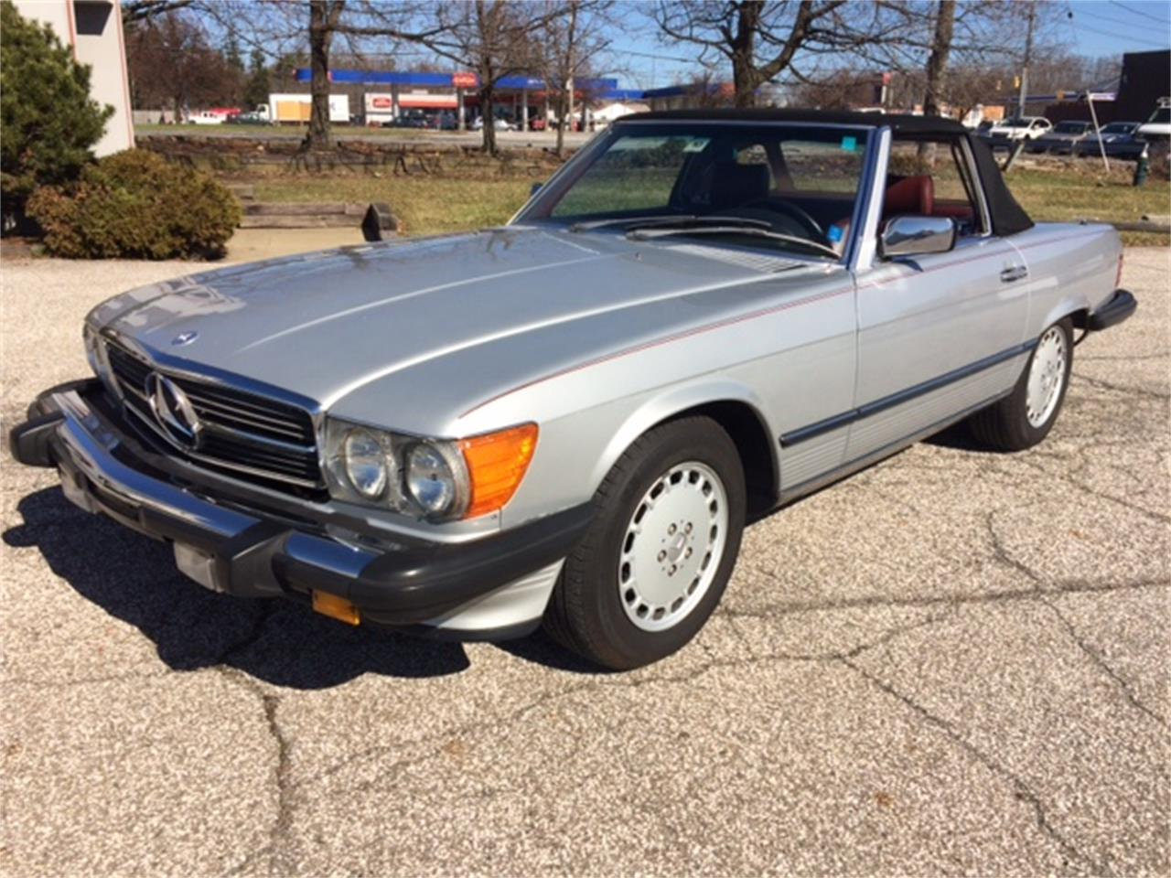 1986 Mercedes-Benz 560SL (CC-1090300) for sale in Bedford Heights, Ohio