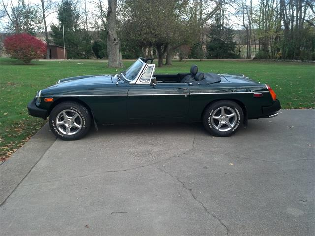 1977 MG MGB (CC-1094381) for sale in QUINCY, MICHIGN