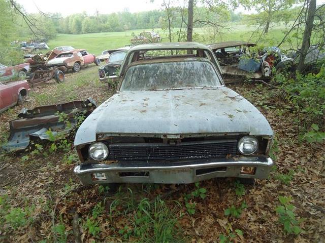 1971 Chevrolet Nova (CC-1096025) for sale in Jackson, Michigan