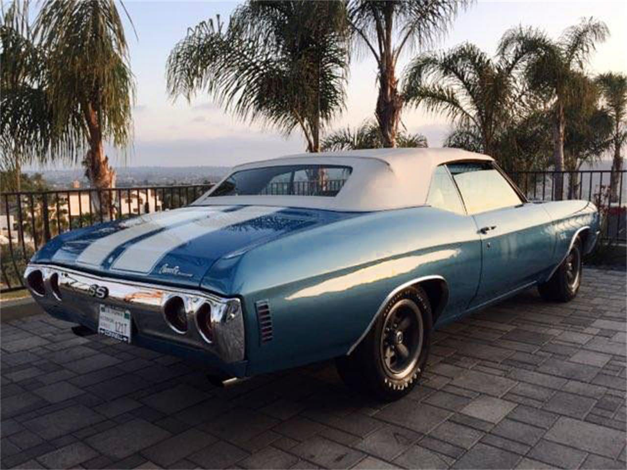 1972 Chevrolet Chevelle SS (CC-1090653) for sale in San Marcos, California