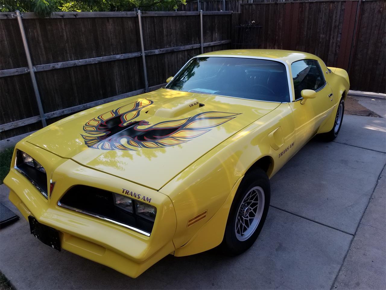 For Sale Firebird Pontiac Cc-1096669 Classiccars Trans com 1977 Am