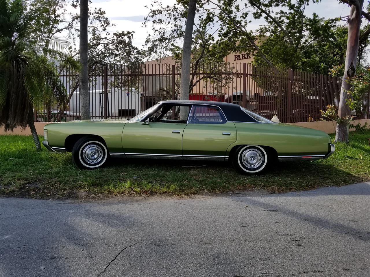 1971 Chevrolet Impala For Sale Classiccars Com Cc 1097522