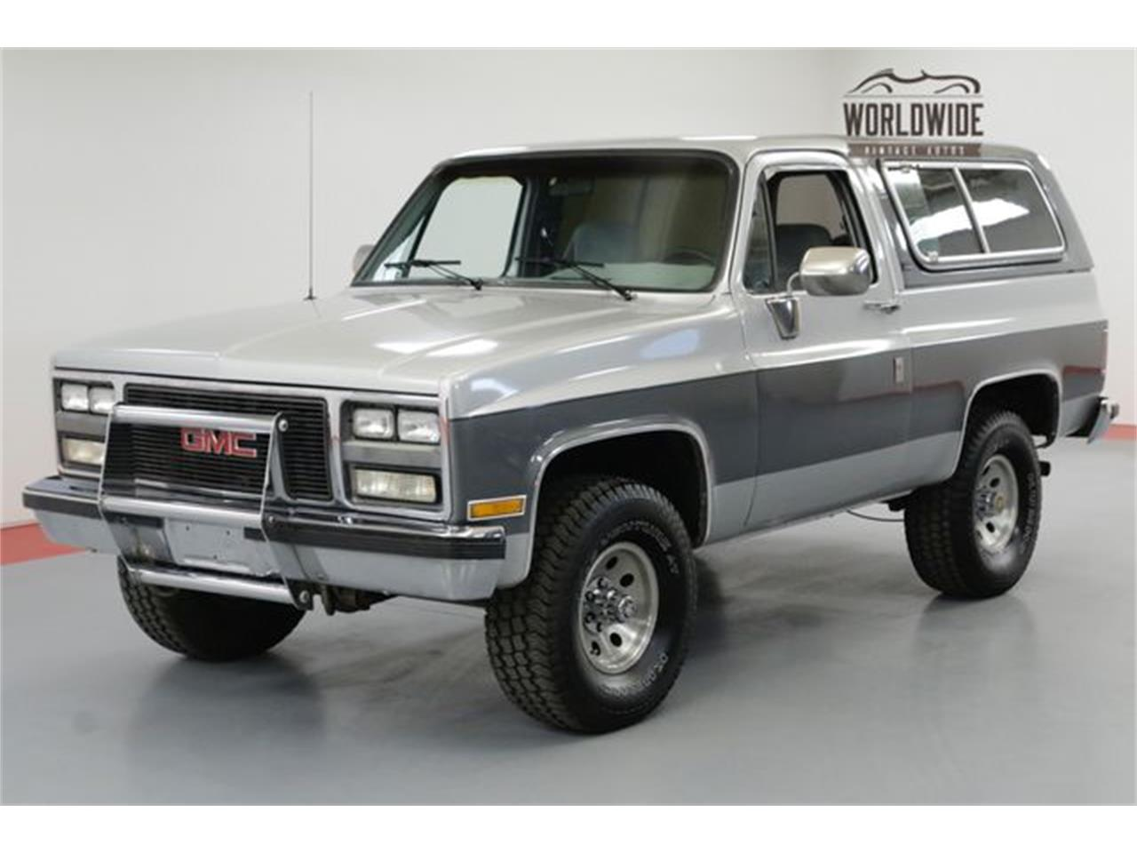 1990 Gmc Jimmy For Sale Classiccars Com Cc 1099408