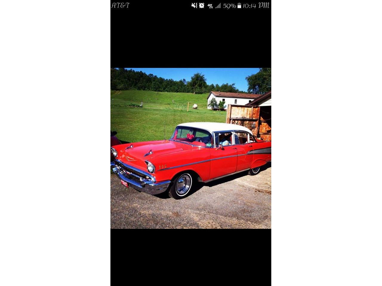 1957 Chevrolet Bel Air (CC-1101561) for sale in West Pittston, Pennsylvania