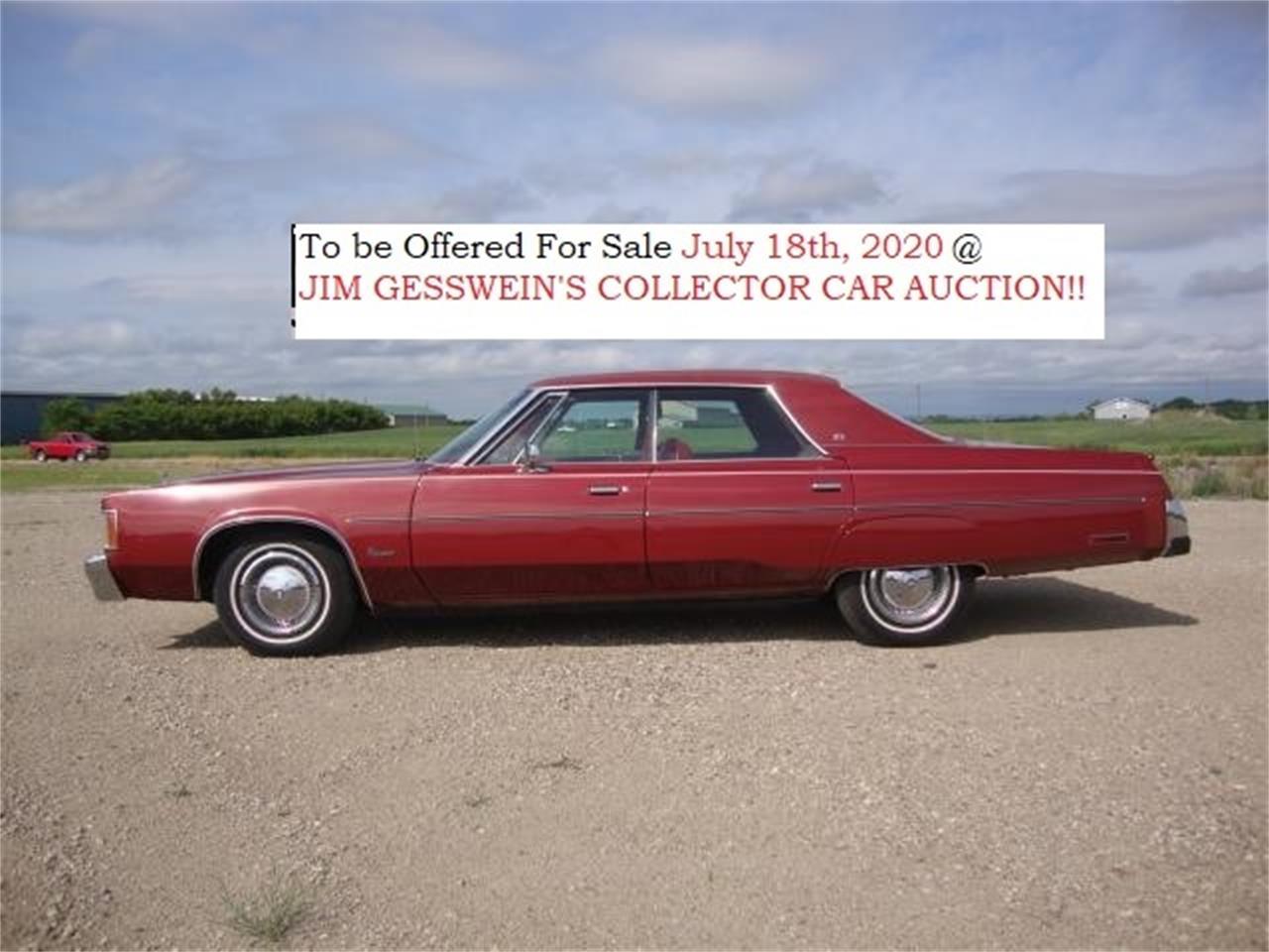 1978 Chrysler Newport (CC-1102608) for sale in Milbank, South Dakota