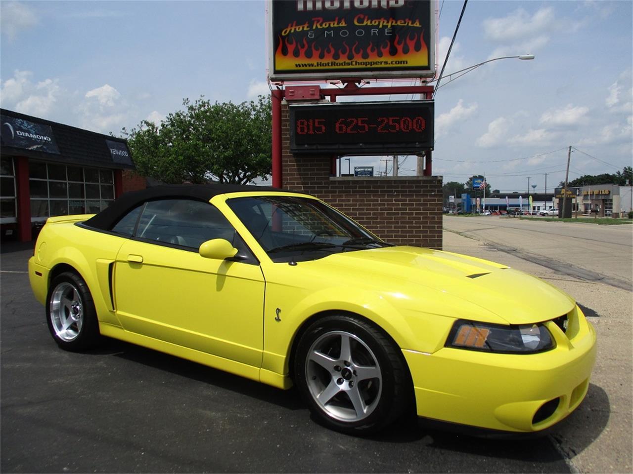 2003 Mustang Cobra Terminator Quarter Mile