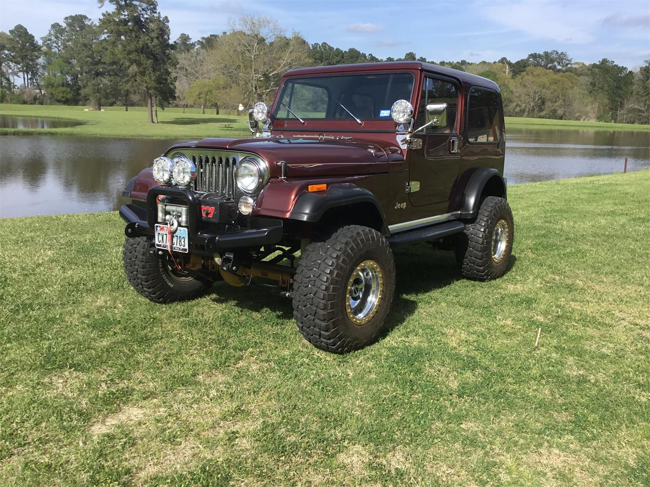 1982 Jeep CJ7 (CC-1104153) for sale in Hockley, Texas