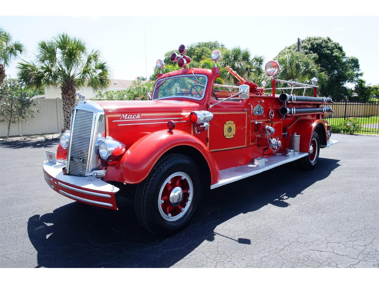1943 Mack Fire Truck For Sale