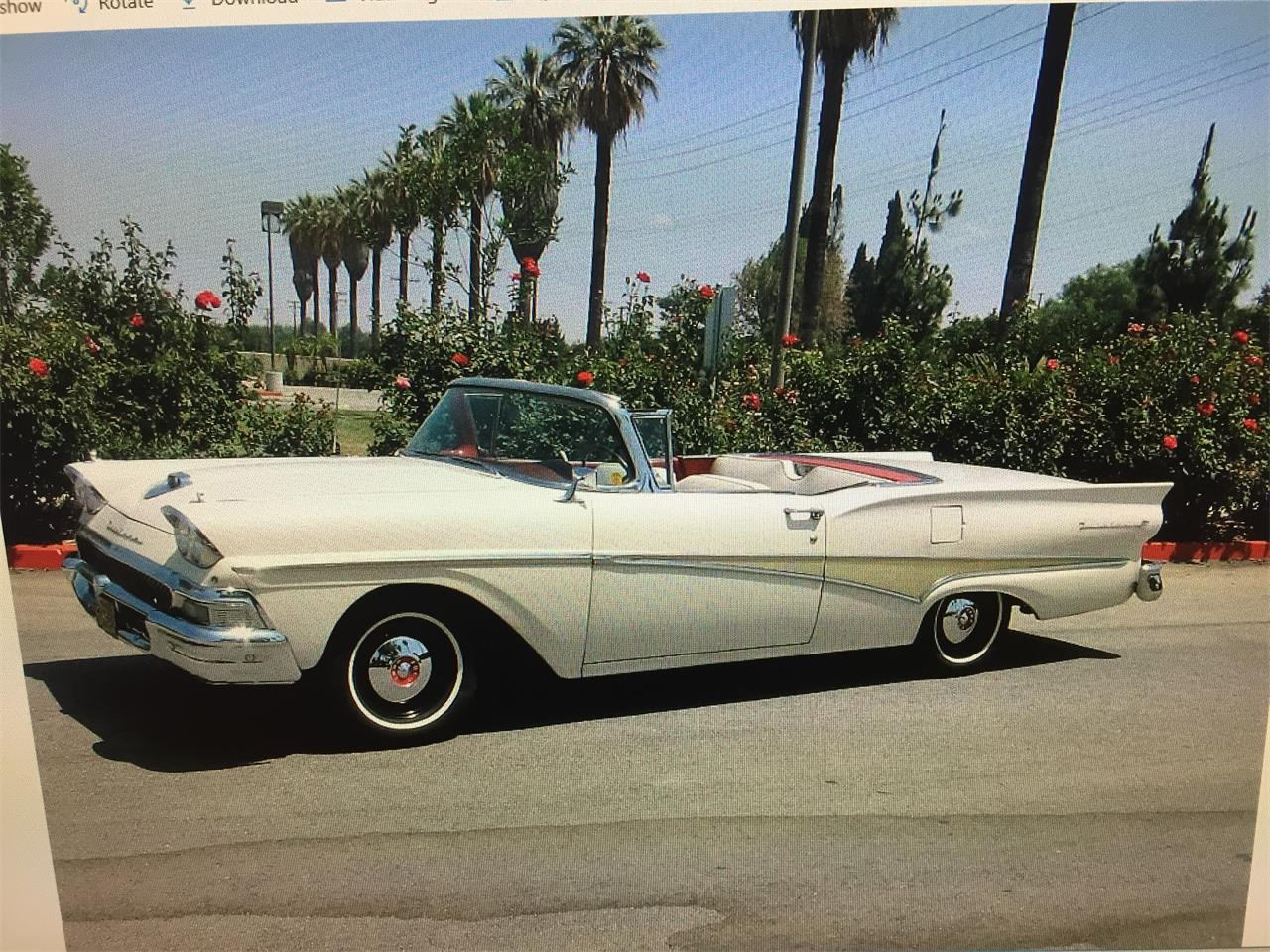 1958 Ford Fairlane 500 For Sale Classiccars Com Cc 1105472