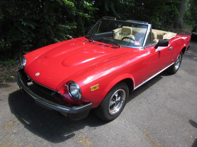1979 Fiat 124 (CC-1105477) for sale in Stratford, Connecticut