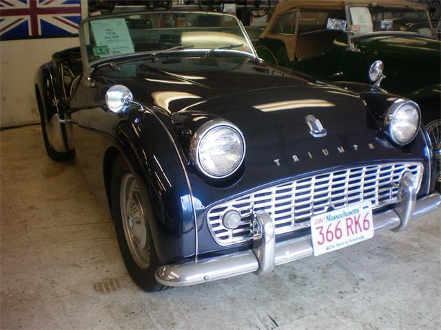 1961 Triumph TR3B (CC-1106311) for sale in Rye, New Hampshire
