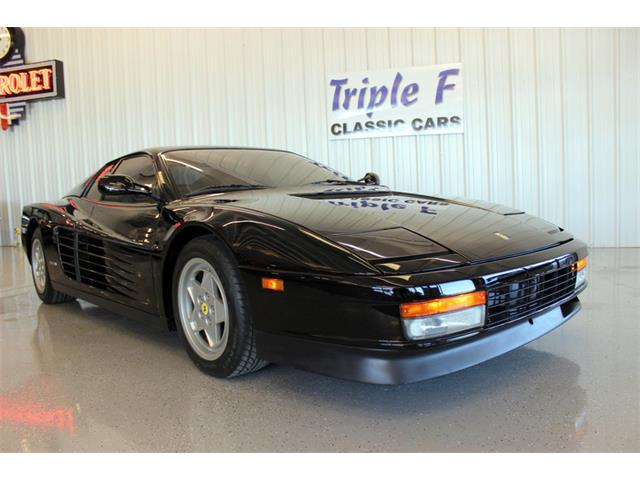 1990 Ferrari Testarossa (CC-1106922) for sale in Fort Worth, Texas