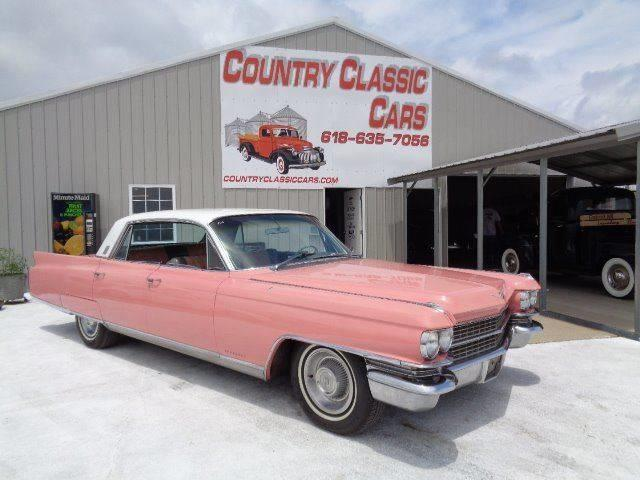 1963 Cadillac Fleetwood (CC-1111320) for sale in Staunton, Illinois