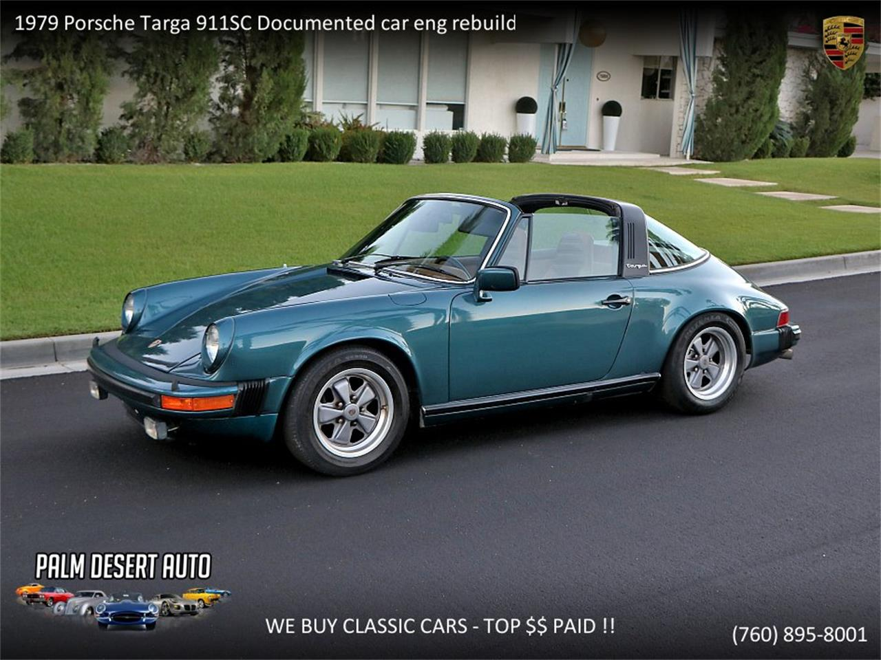 Porsche Targa For Sale >> 1979 Porsche 911 Targa For Sale Classiccars Com Cc 1112078