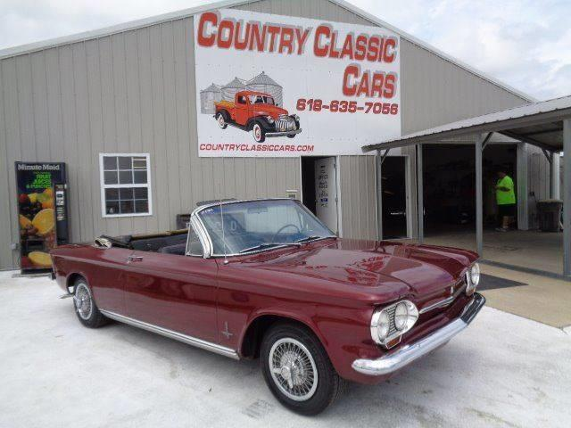 1963 Chevrolet Corvair (CC-1113048) for sale in Staunton, Illinois