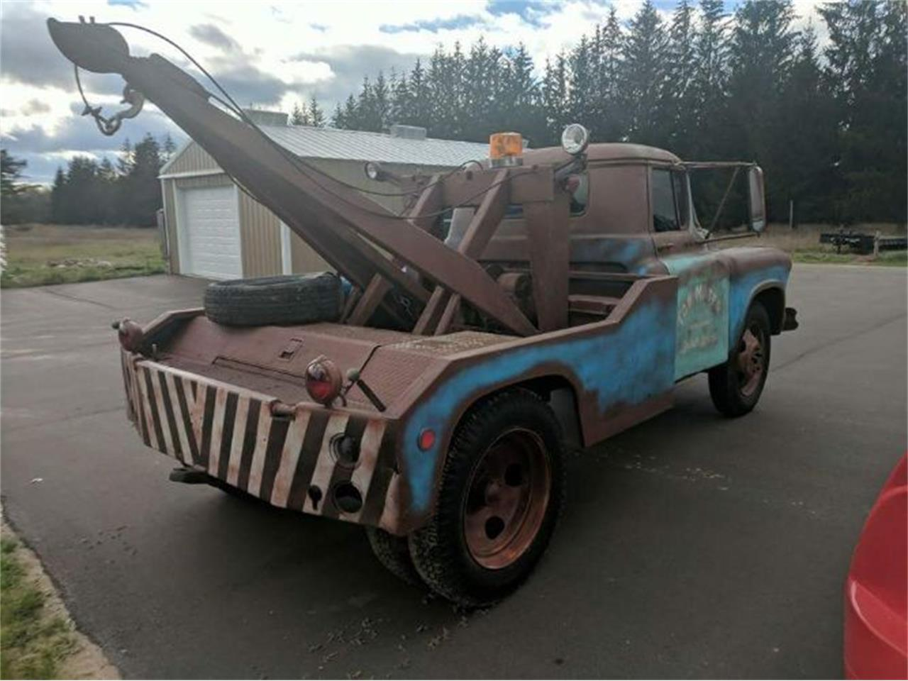 1957 Chevrolet Tow Truck For Sale Classiccars Com Cc 1113822