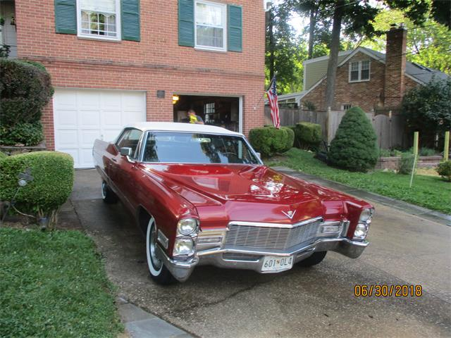 1968 Cadillac Convertible (CC-1110434) for sale in Bethesda, Maryland