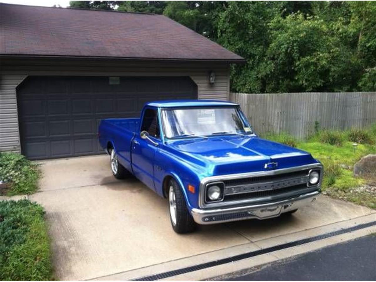 1969 Chevrolet C10 (CC-1115181) for sale in Cadillac, Michigan