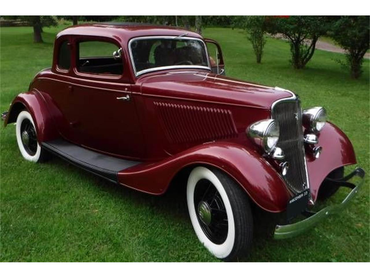1933 Ford Coupe (CC-1115395) for sale in Cadillac, Michigan
