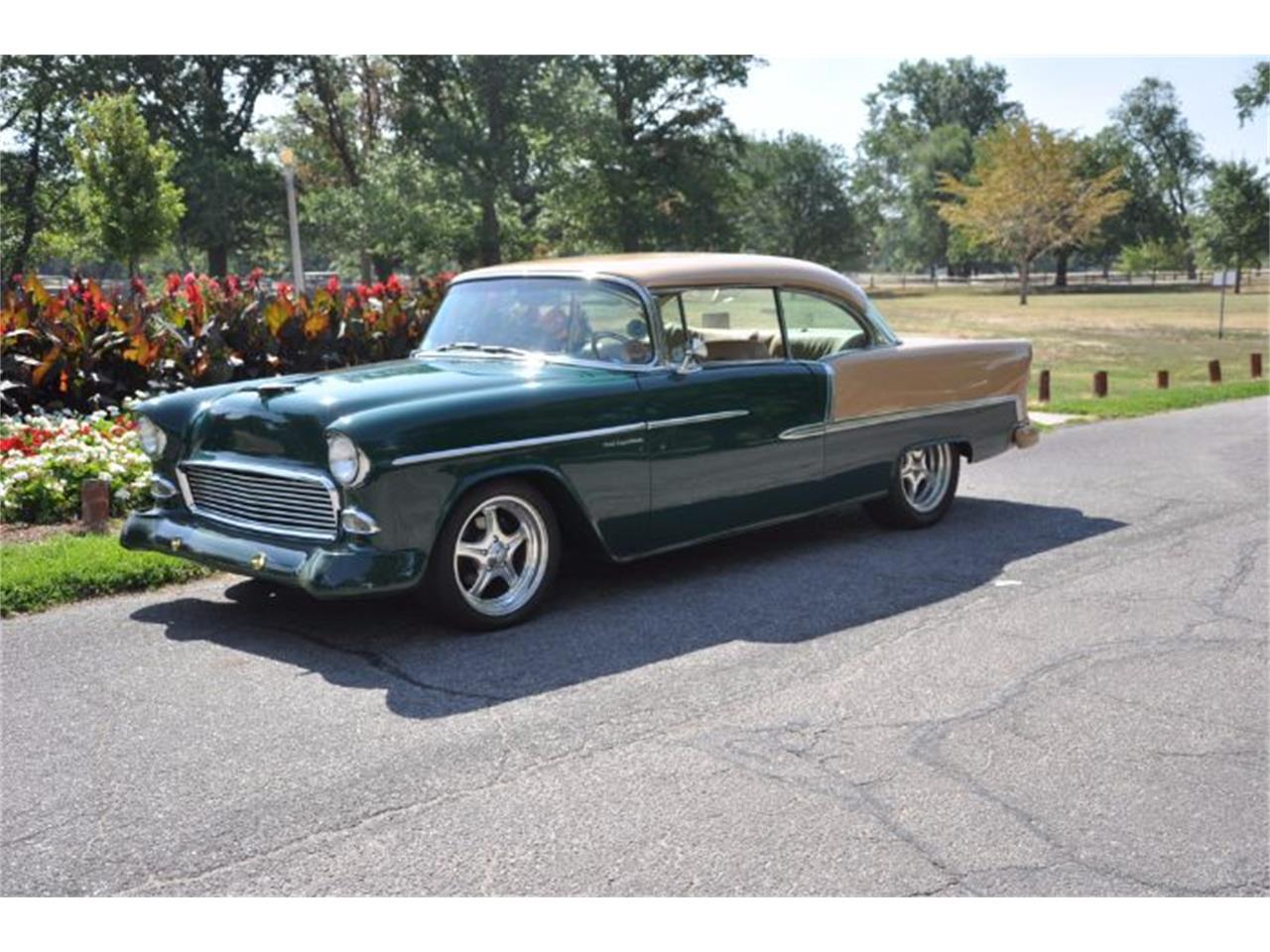 1955 Chevrolet Bel Air (CC-1115407) for sale in Cadillac, Michigan