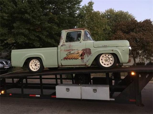 1959 Ford F100 (CC-1115531) for sale in Cadillac, Michigan