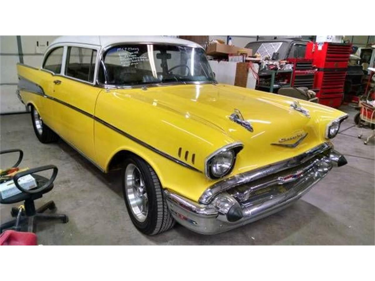 1957 Chevrolet Bel Air (CC-1115545) for sale in Cadillac, Michigan