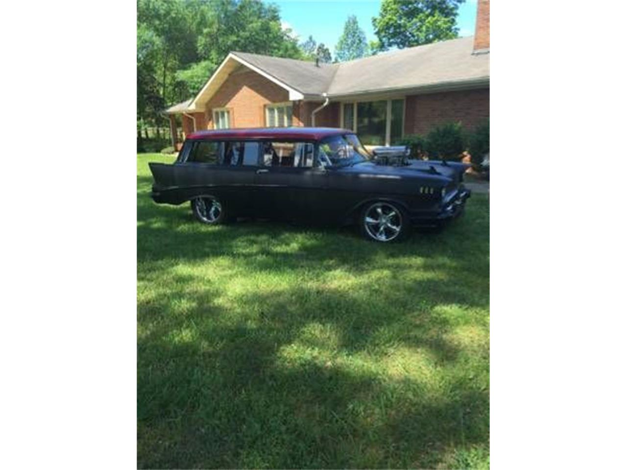 1957 Chevrolet Station Wagon (CC-1115737) for sale in Cadillac, Michigan