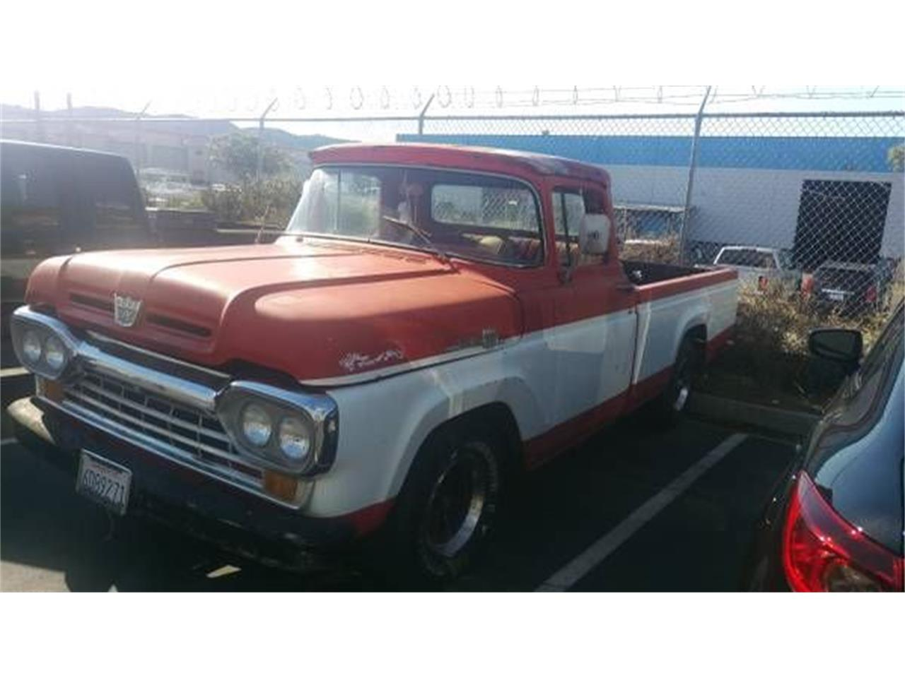 1960 Ford F100 (CC-1115940) for sale in Cadillac, Michigan