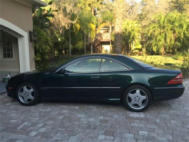 2002 Mercedes-Benz CL600 (CC-1116156) for sale in Cadillac, Michigan