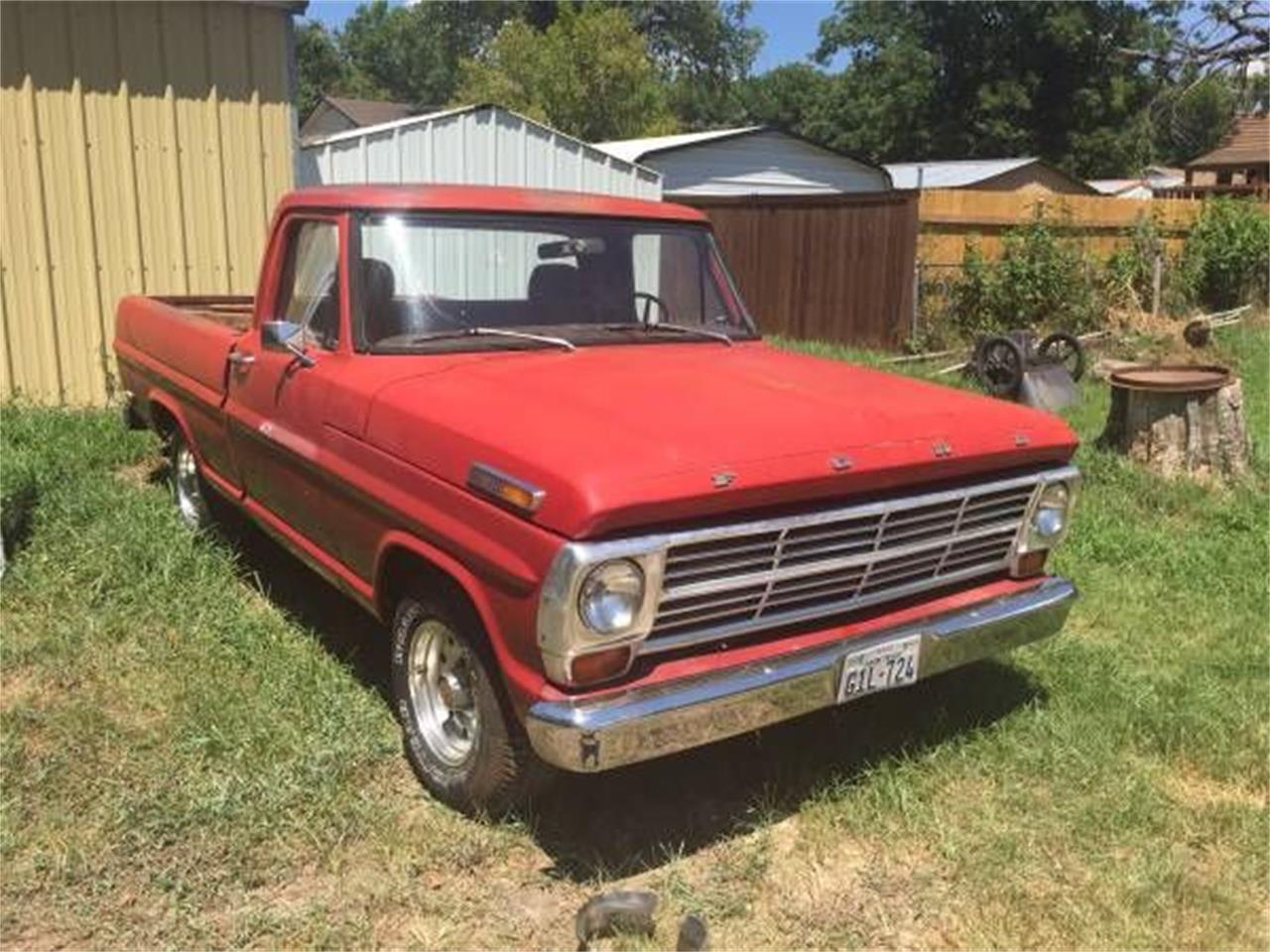 1969 Ford F100 (CC-1116212) for sale in Cadillac, Michigan
