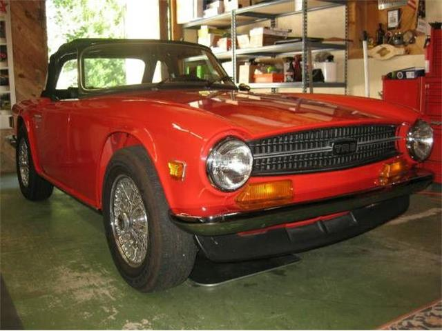 1973 Triumph TR6 (CC-1116604) for sale in Cadillac, Michigan