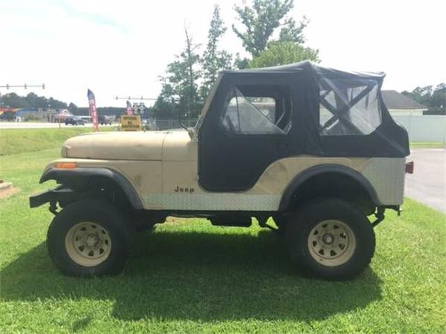 1976 Jeep CJ5 (CC-1116643) for sale in Cadillac, Michigan