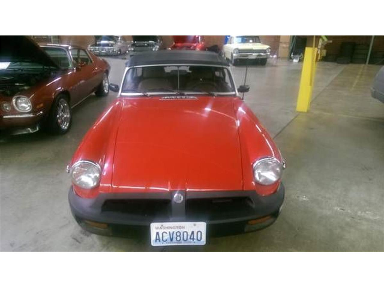1980 MG MGB (CC-1116905) for sale in Cadillac, Michigan