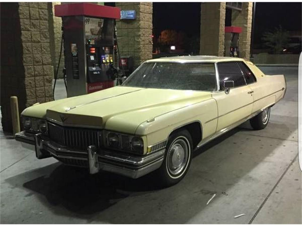 1973 Cadillac Coupe DeVille for Sale | ClassicCars.com ...