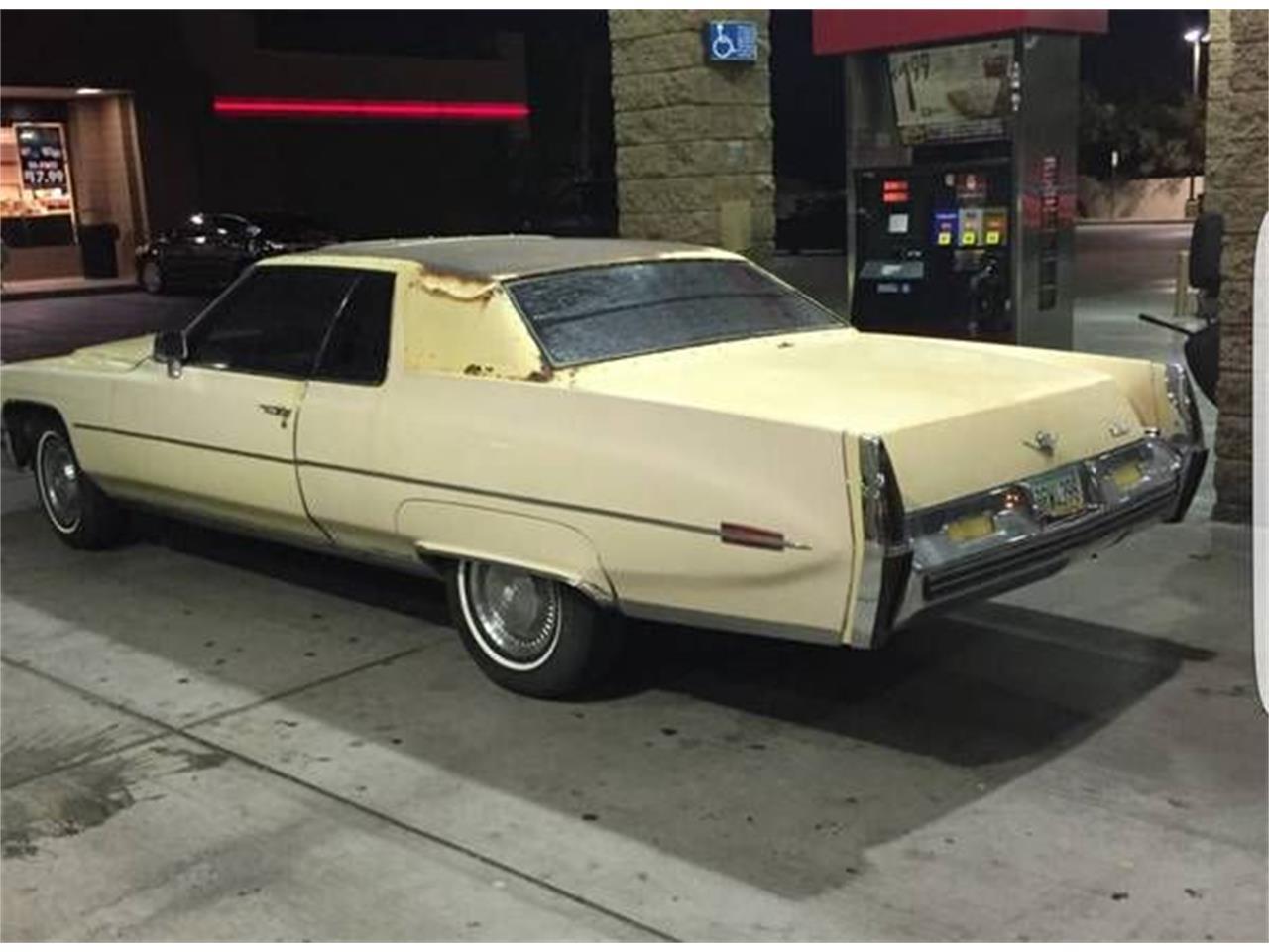 1973 Cadillac Coupe DeVille (CC-1116938) for sale in Cadillac, Michigan