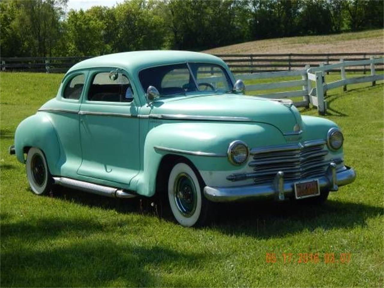 1948 Plymouth Coupe (CC-1116986) for sale in Cadillac, Michigan