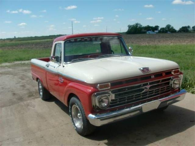 1966 Ford F100 (CC-1117301) for sale in Cadillac, Michigan
