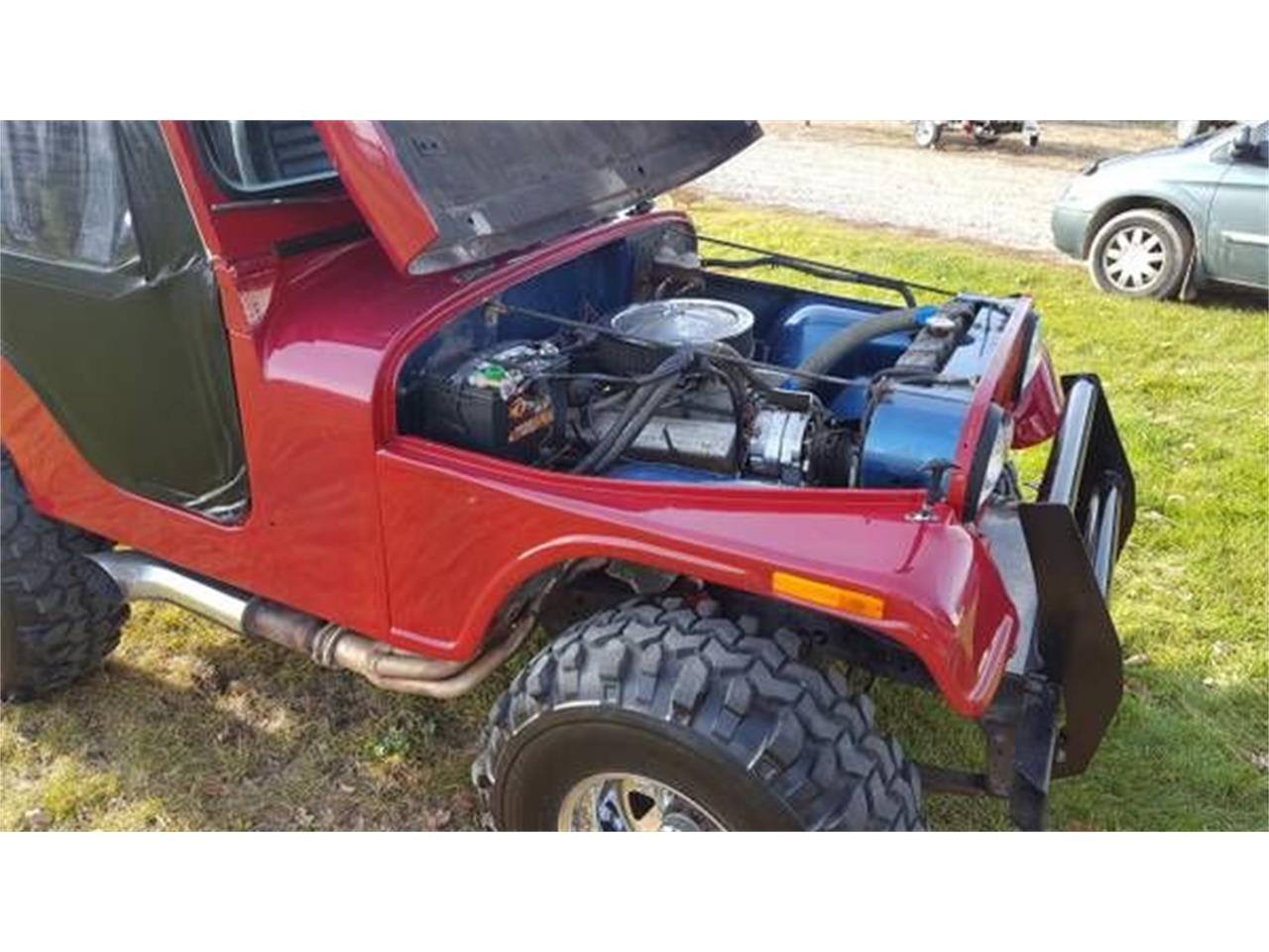 1973 Jeep CJ5 (CC-1117380) for sale in Cadillac, Michigan