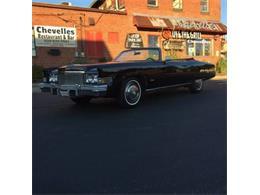 1974 Cadillac Eldorado (CC-1117521) for sale in Cadillac, Michigan