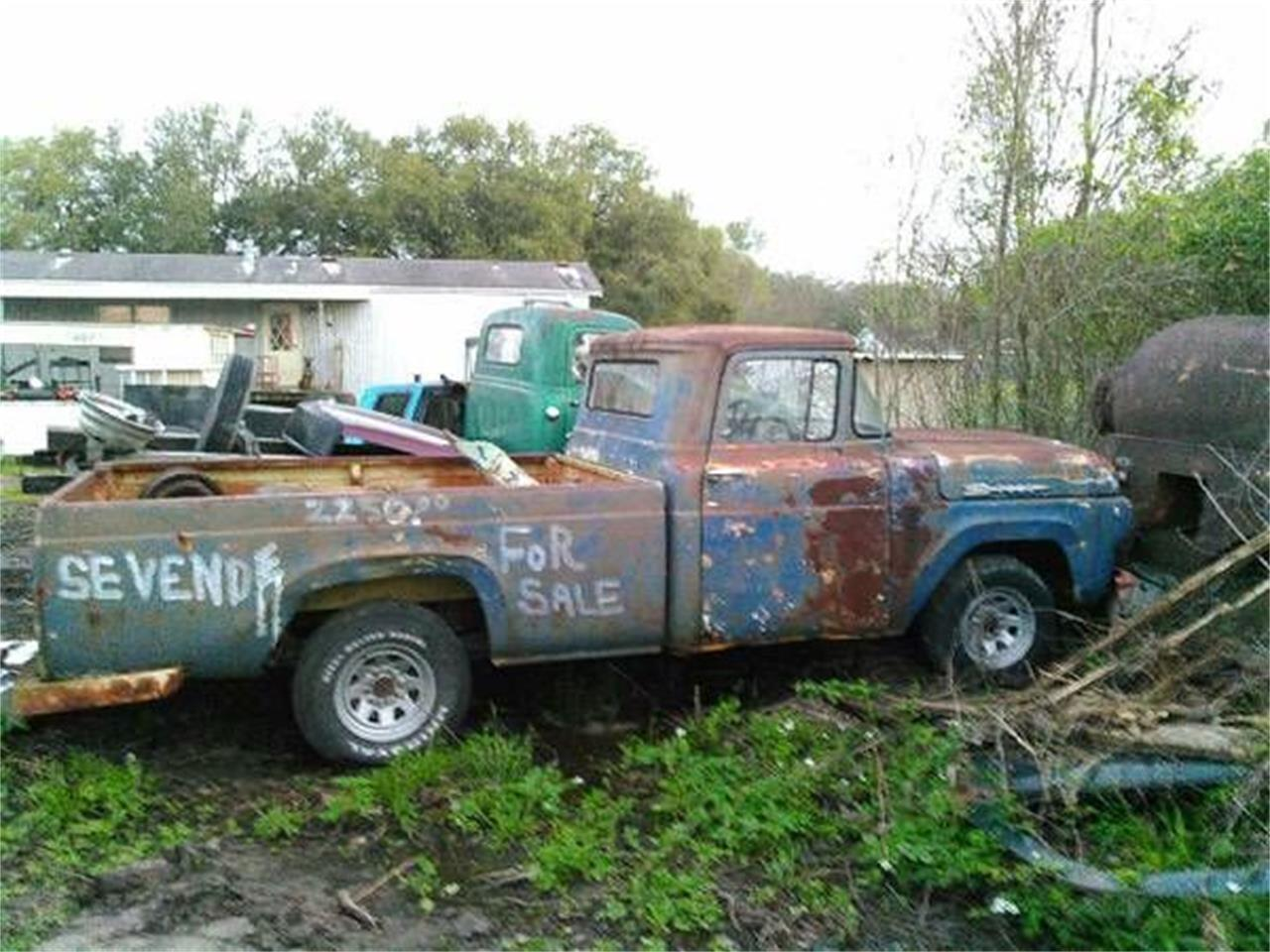 1960 Ford F100 (CC-1117583) for sale in Cadillac, Michigan