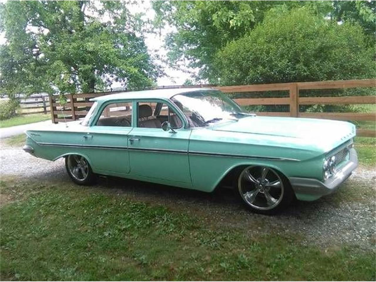 1961 Chevrolet Bel Air (CC-1117587) for sale in Cadillac, Michigan