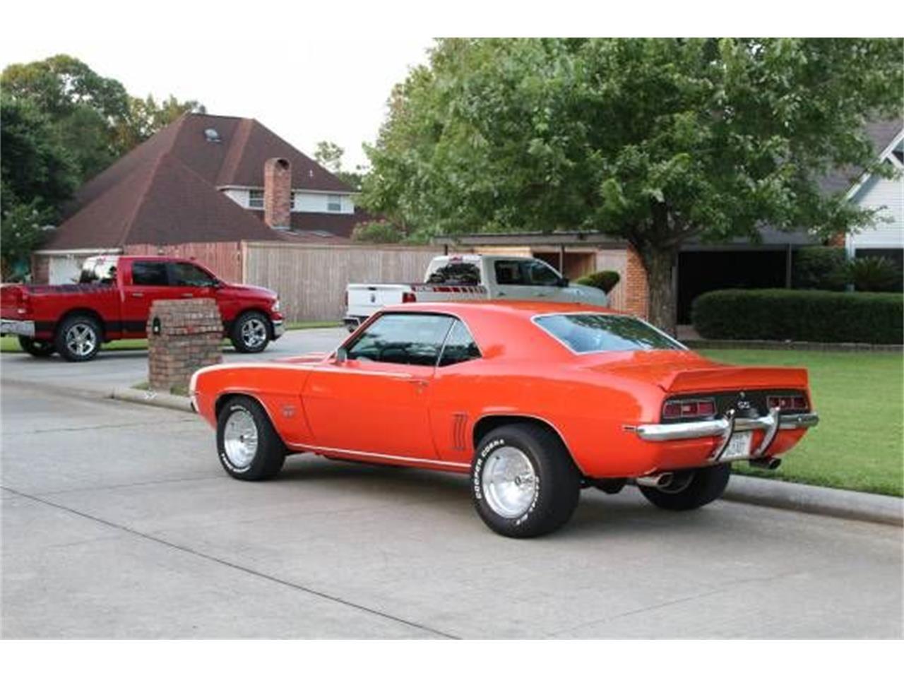 1969 Chevrolet Camaro (CC-1117786) for sale in Cadillac, Michigan