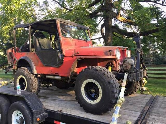 1955 Willys Jeep (CC-1117879) for sale in Cadillac, Michigan