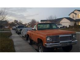 1973 Chevrolet K-10 (CC-1117897) for sale in Cadillac, Michigan